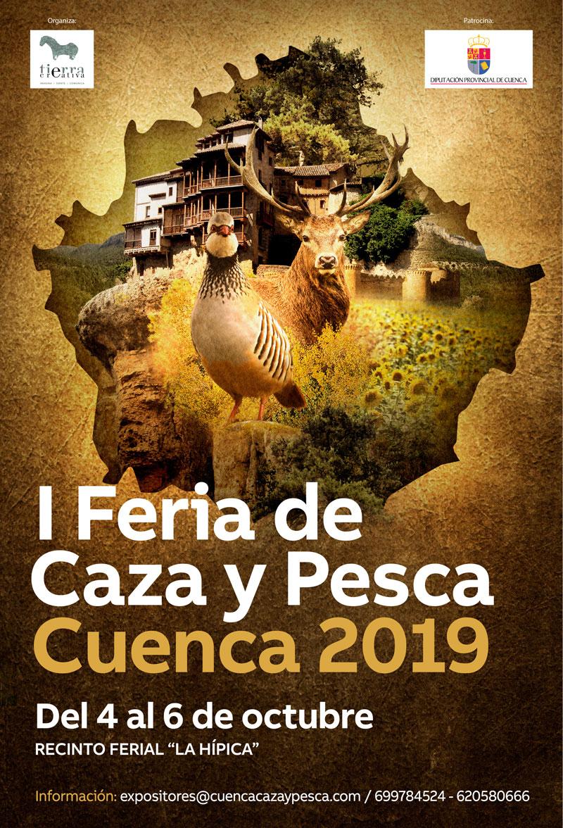 Cartel Feria Caza Cuenca I