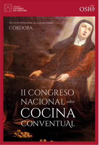 Cartel II Congreso Cocina Conventual