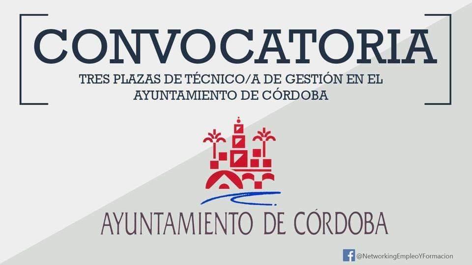Oposiciones a Técnico de Gestión. Organizado por Ayuntamiento de Córdoba